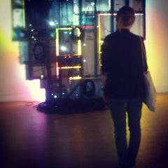 Photo taken at GEM, museum voor actuele kunst by Katerina S. on 9/5/2012