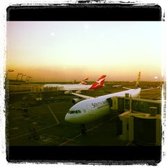 Photo taken at Terminal A International Departures by Martin G. on 4/20/2012