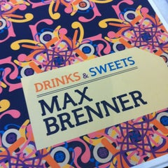 Photo taken at Max Brenner Chocolate Bar by Redfirefly M. on 6/24/2012