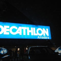 Photo taken at Decathlon by Tiago C. on 8/2/2012