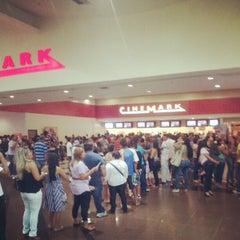 Photo taken at Cinemark by Waldemar N. on 7/9/2012