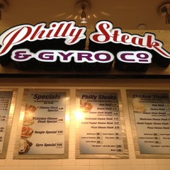 Photo taken at Philly Steak & Gyro by Lyndsey G. on 3/23/2012