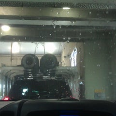 Photo taken at The Glo Car Wash by Jenn O. on 6/17/2012