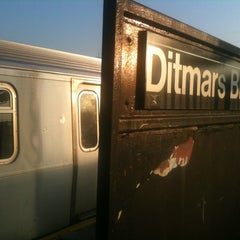 Photo taken at MTA Subway - Astoria/Ditmars Blvd (N/Q) by Andrew A. on 3/17/2012
