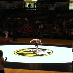Photo taken at Hearnes Center by Dan O. on 3/4/2012