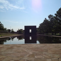 Photo taken at Oklahoma City National Memorial & Museum by Zeb W. on 8/11/2012