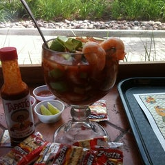 Photo taken at Cazadores Mexican Food by Cindy B. on 2/27/2012