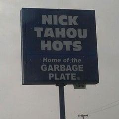 Photo taken at Nick Tahou Hots by John L. on 3/9/2012