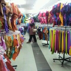 Photo taken at Zaleha Textiles by jijie k. on 2/8/2012