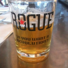 Photo taken at Rogue Brewers on the Bay by Rusty B. on 9/11/2012