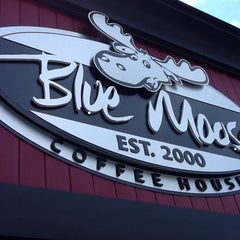 Photo taken at Blue Moose Coffee House by Ted F. on 6/25/2012