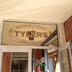 Photo taken at Tyler's Restaurant & Taproom by Sun P. on 2/3/2012
