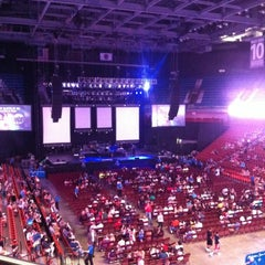 Photo taken at Mohegan Sun Arena by Carli on 8/24/2012