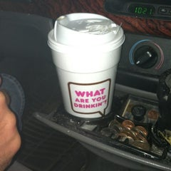 Photo taken at Dunkin' Donuts by Hillary on 7/13/2012