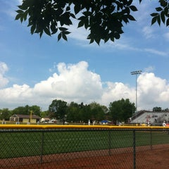 Photo taken at Little League Baseball Headquarters by Carl F. on 8/5/2012