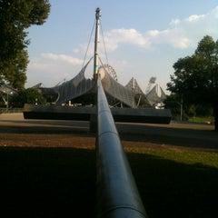 Photo taken at Olympiastadion by Eszti K. on 7/27/2012