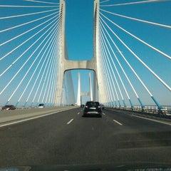 Photo taken at Ponte Vasco da Gama by Lidia M. on 7/11/2012
