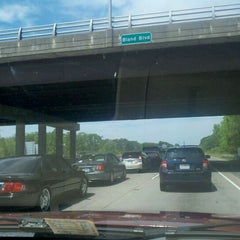 Photo taken at I-64 Exit 255: Jefferson Ave by Traci F. on 4/15/2012