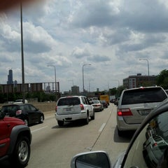 Photo taken at Kennedy Expressway by Octavia T. on 6/16/2012