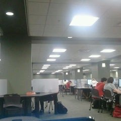 Photo taken at Strozier Library by Rose C. on 2/5/2012