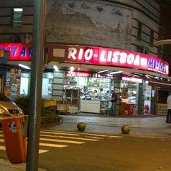 Photo taken at Padaria Rio-Lisboa by Maura X. on 8/12/2012