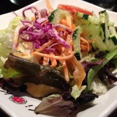 Photo taken at Kiku Japanese Steak & Sushi by Chris on 2/9/2012