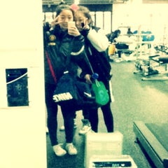 Photo taken at Fitness Center by Hannah Hyunah K. on 3/2/2012