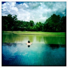 Photo taken at Le Méridien Chiang Rai Resort, Thailand by Mine O. on 7/11/2012