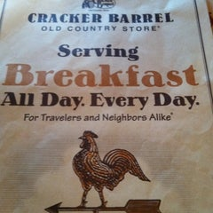 Photo taken at Cracker Barrel Old Country Store by Misty B. on 3/5/2012