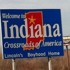 Photo taken at Ohio/Indiana State Line by Brad D. on 2/3/2012