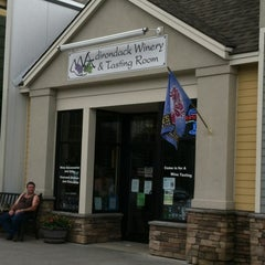 Photo taken at Adirondack Winery Tasting Room by Michael D. on 8/11/2012