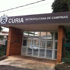 Photo taken at Cúria Metropolitana de Campinas by Fabiano F. on 3/28/2012