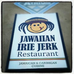 Photo taken at Jawaiian Irie Jerk Restaurant by Kelvin C. on 7/16/2012
