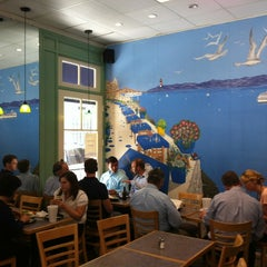 Photo taken at Sabrina Cafe & Deli by Lucas M. on 7/25/2012