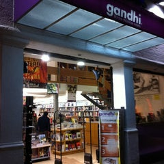 Photo taken at Libreria Gandhi by Rodrigo C. on 3/12/2012