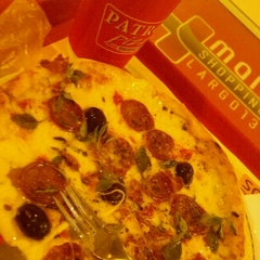 Photo taken at Patroni Pizza by Marcos R. on 7/1/2012