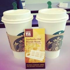 Photo taken at Starbucks by Fiona . on 3/18/2012
