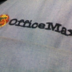 Photo taken at OfficeMax by JORGE N. on 4/7/2012