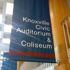 Photo taken at Knoxville Civic Audiotorium & Coliseum by Larry T. on 6/3/2012
