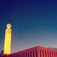 Photo taken at McCarthy Quad by Bryan T. on 3/22/2012