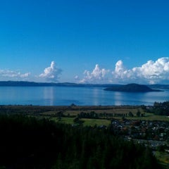 Photo taken at Skyline Rotorua Gondola by Tui on 5/10/2012