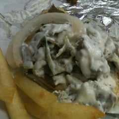 Photo taken at Mr. Greek Gyros by Tony B. on 5/13/2012