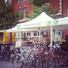 Photo taken at Grove Street Farmers' Market by Paul C. on 9/6/2012