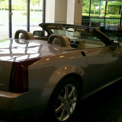 Photo taken at Germain Cadillac of Easton by Donna H. on 5/2/2012