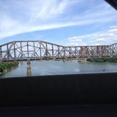 Photo taken at Brent Spence Bridge by Ashley G. on 6/23/2012