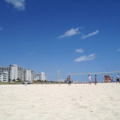 Photo taken at 2nd Street Beach by Jose A. on 4/8/2012