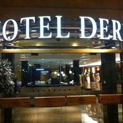 Photo taken at Hotel Derby Barcelona by Герман Я. on 7/16/2012