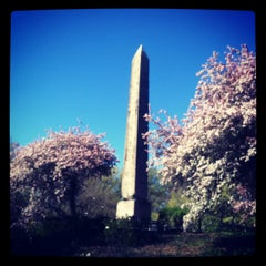 Photo taken at The Obelisk (Cleopatra's Needle) by Kevin G. on 4/7/2012