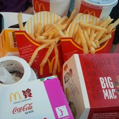 Photo taken at McDonald's by Qaseh A. on 8/14/2012