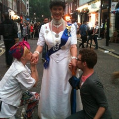 Photo taken at World Pride London 2012 by Stuart R. on 7/7/2012